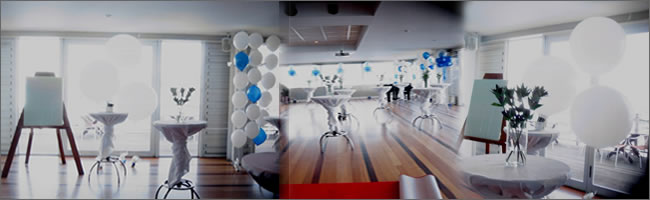 Balloons for corporate events, Auckland
