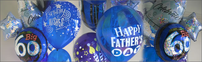 Happy fathers day balloon bouquet