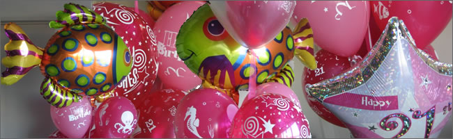 Funky fish helium balloon bouquet gift item delivered Auckland wide