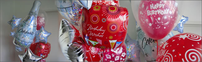 Giant red balloon bouquet gift delivered to your door