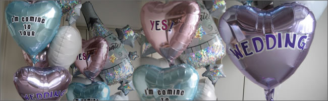 Giant message helium balloon bouquets, Auckland, NZ