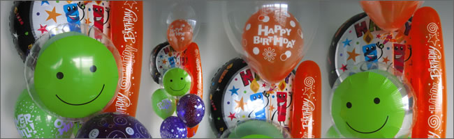 Happy Birthday singing balloon bouquet